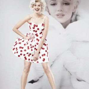Marilyn Monroe Cherry Mini Dress